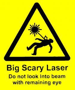 Laser Safety Signage
