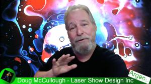 Planetarium Laser Light With Doug McCullough For ArgonTV