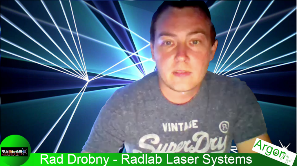 How To Photograph A Laser Beam With ArgonTV