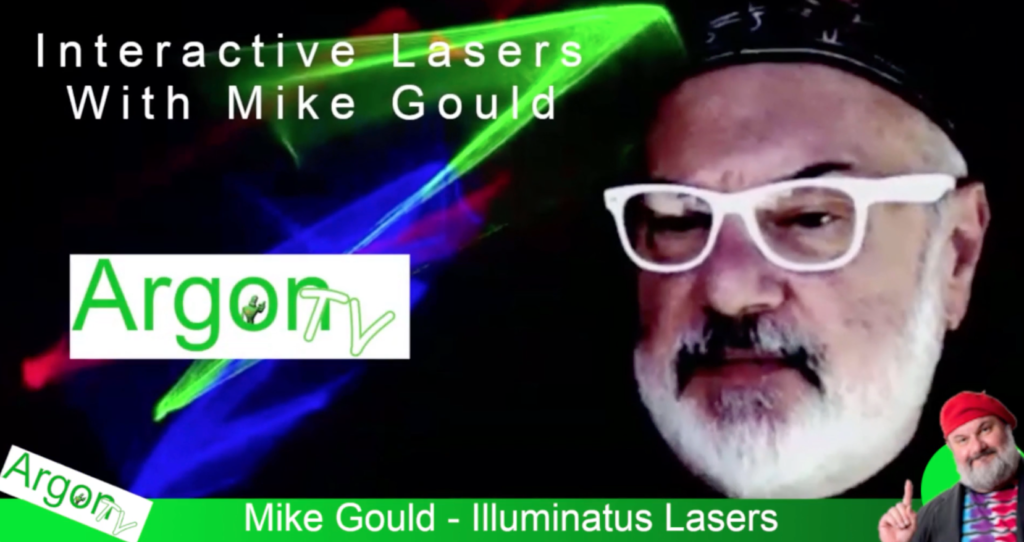 Interactive Laser With Mike Gould and ArgonTV