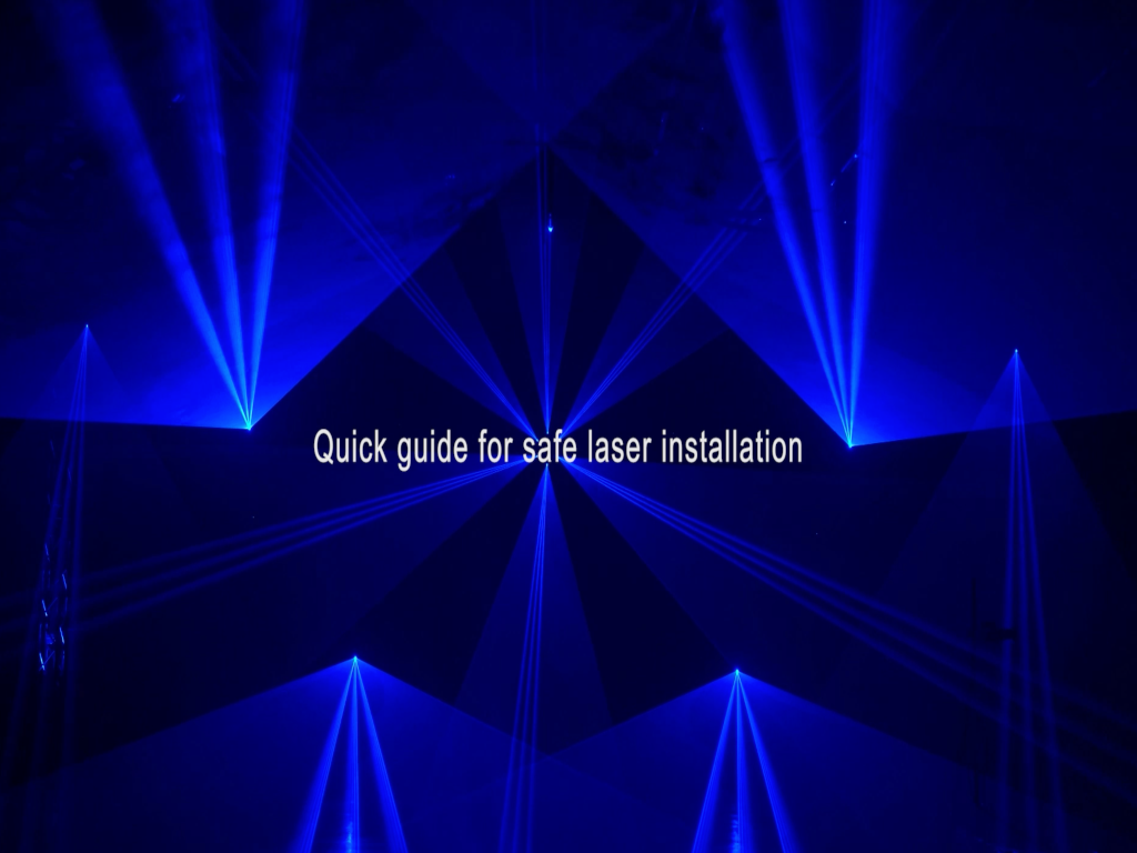 Quick Guide To Safe Laser Installation - With ArgonTV